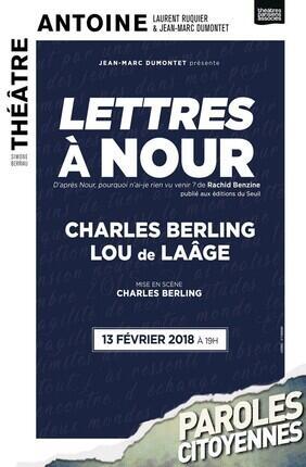 LETTRES A NOUR AVEC CHARLES BERLING ET LOU DE LAAGE