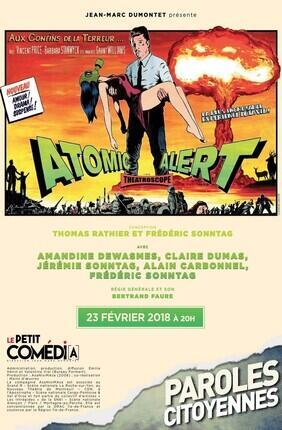 ATOMIC ALERT (Theatre Comedia)
