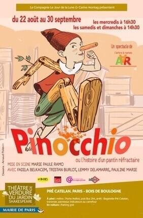 PINOCCHIO, OU L'HISTOIRE D'UN PANTIN REFRACTAIRE