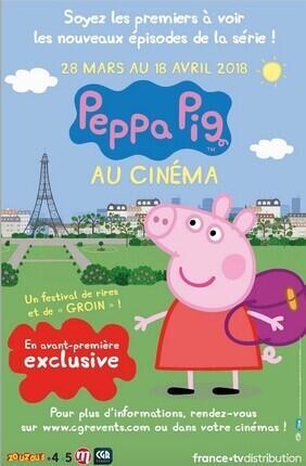 PEPPA PIG AU CINEMA