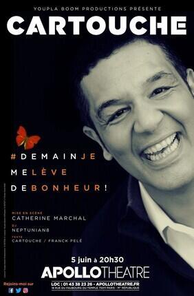 CARTOUCHE DANS #DEMAIN JE ME LEVE DE BONHEUR (Apollo Theatre)