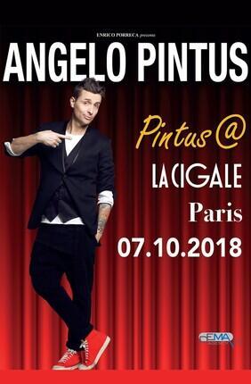 ANGELO PINTUS DANS PINTUS@PARIS