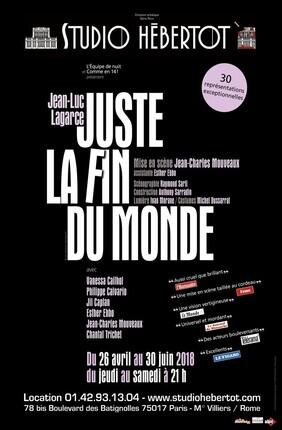 JUSTE LA FIN DU MONDE (Studio Hebertot)
