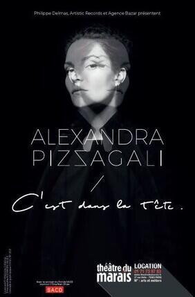 ALEXANDRA PIZZAGALI DANS C'EST DANS LA TETE