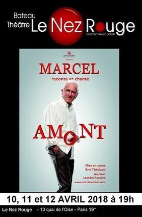 MARCEL AMONT DANS MARCEL RACONTE ET CHANTE AMONT - Le Nez Rouge