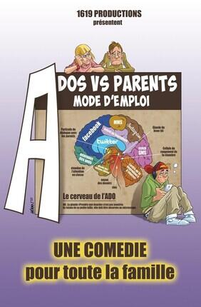 ADOS VS PARENTS MODE D'EMPLOI (Apollo Theatre - Salle 200)