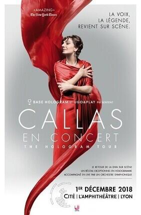 CALLAS EN CONCERT - THE HOLOGRAM TOUR
