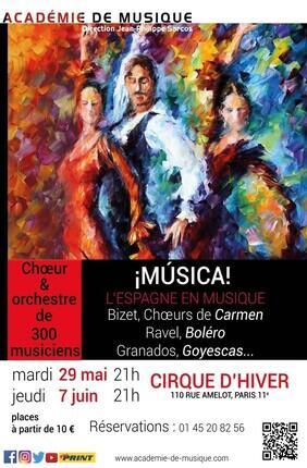 MUSICA (Cirque d'Hiver Bouglione)