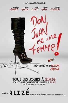 DON JUAN EST UNE FEMME - Theatre de l'Alize