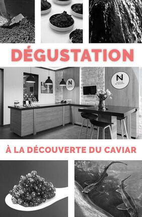 DEGUSTATION : A LA DECOUVERTE DU CAVIAR FRANÇAIS