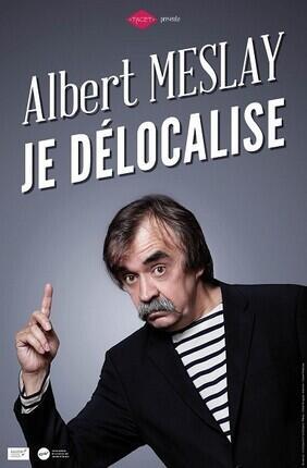 ALBERT MESLAY DANS JE DELOCALISE Theatre de l'Ange
