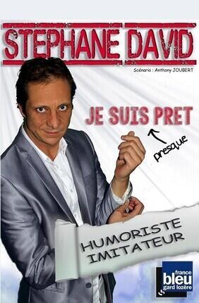 STEPHANE DAVID DANS JE SUIS PRESQUE PRET (Artebar Theatre)