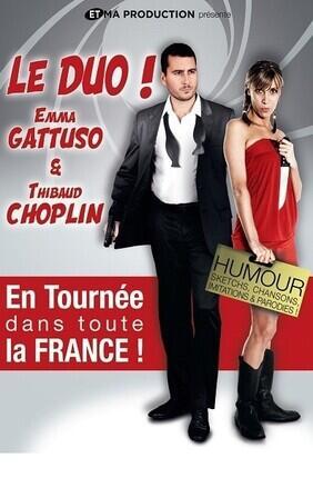 THIBAUD CHOPLIN ET EMMA GATTUSO DANS LE DUO (Le Complexe Cafe Theatre)