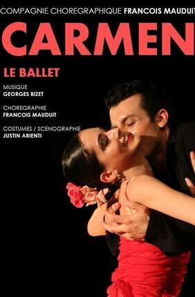CARMEN LE BALLET PAR LA COMPAGNIE CHOREGRAPHIQUE FRANCOIS MAUDUIT