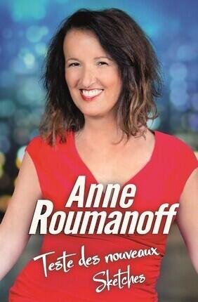 ANNE ROUMANOFF EN EXCLUSIVITE
