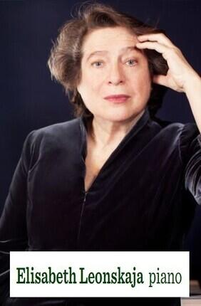 ELISABETH LEONSKAJA PIANO AUX CHAMPS ELYSEES