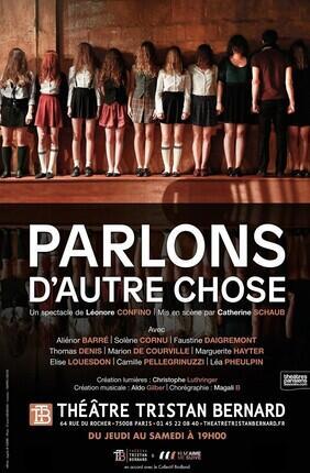 PARLONS D'AUTRE CHOSE DE LEONORE CONFINO