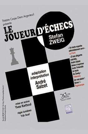 LE JOUEUR D'ECHECS (Theatre de l'Epee de Bois)
