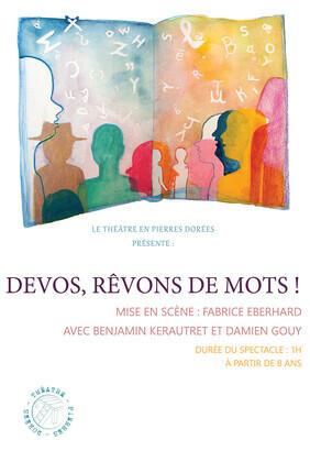 DEVOS, REVONS DE MOTS (Comédie Odéon)