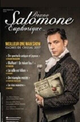 BRUNO SALOMONE DANS EUPHORIQUE (Theatre Casino Barriere)