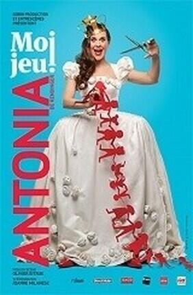 ANTONIA DE RENDINGER DANS MOI JEU (Comedie de Nice)