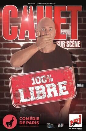 CAUET AU PALAIS DES GLACES DANS 100% LIBRE !