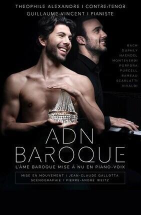 ADN BAROQUE : L'AME BAROQUE MISE A NU EN PIANO-VOIX