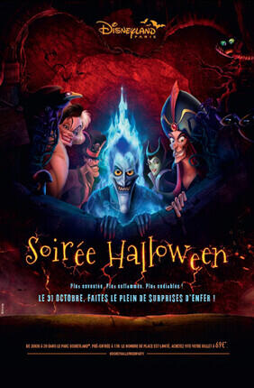 SOIREE HALLOWEEN A DISNEYLAND® PARIS