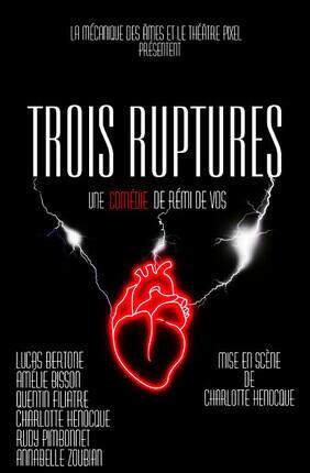 TROIS RUPTURES (Theatre Pixel)