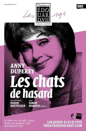 LES CHATS DE HASARD AVEC ANNY DUPEREY