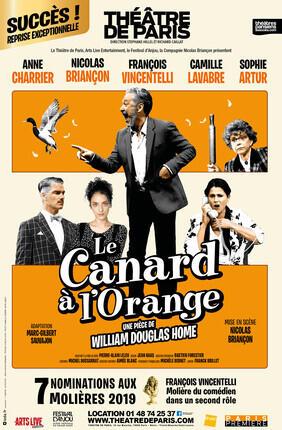 LE CANARD A L'ORANGE AVEC NICOLAS BRIANCON, ANNE CHARRIER ET FRANCOIS VINCENTELLI