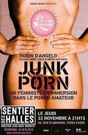 EN SCENE SIMONE - UN FEMINISTE EN IMMERSION DANS LE PORNO AMATEUR ROBIN D'ANGELO RACONTE JUDY, LOLA, SOFIA