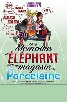 UNE MEMOIRE D'ELEPHANT (DANS UN MAGASIN DE PORCELAINE)