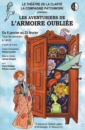 LES AVENTURIERS DE L'ARMOIRE OUBLIEE