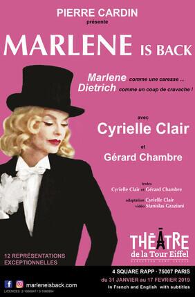 MARLENE IS BACK AVEC CYRIELLE CLAIR