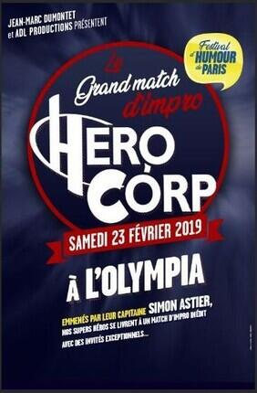 HERO CORP LE GRAND MATCH D'IMPRO - FESTIVAL D'HUMOUR DE PARIS
