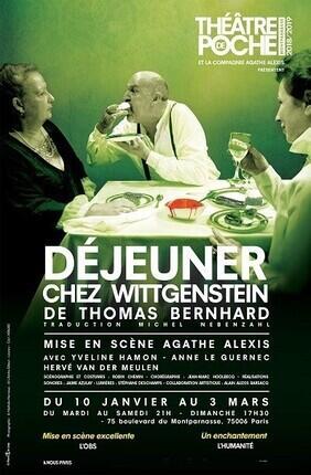 DEJEUNER CHEZ WITTGENSTEIN (Theatre de Poche Montparnasse)