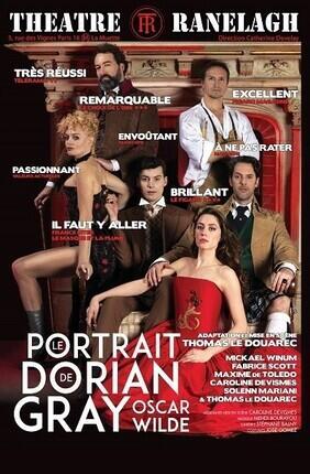 LE PORTRAIT DE DORIAN GRAY (Theatre Le Ranelagh)