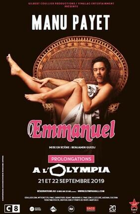 MANU PAYET A  L'OLYMPIA DANS EMMANUEL