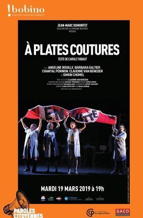 A PLATES COUTURES - PAROLES CITOYENNES