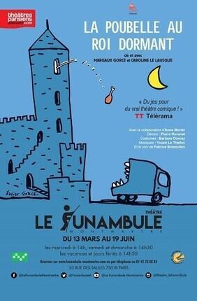 LA POUBELLE AU ROI DORMANT (Le Funambule Montmartre)