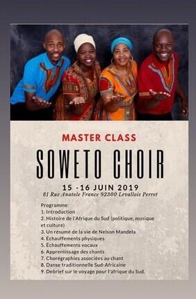 CONCERT GOSPEL LEWE4 - MASTER CLASS SOWETO CHOIR + CONCERT