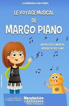 LE VOYAGE MUSICAL DE MARGO PIANO (La Manufacture des Abbesses)