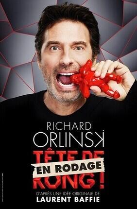 RICHARD ORLINSKI DANS TETE DE KONG EN RODAGE (La Compagnie du Cafe Theatre)