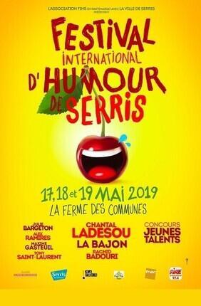 CHANTAL LADESOU DANS ON THE ROAD AGAIN FESTIVAL D'HUMOUR DE SERRIS