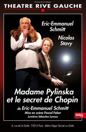 MADAME PYLINSKA ET LE SECRET DE CHOPIN DE ET AVEC ERIC-EMMANUEL SCHMITT