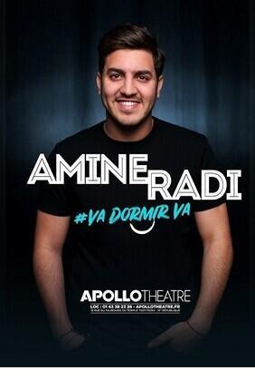 AMINE RADI DANS VA DORMIR VA A l'Apollo Theatre