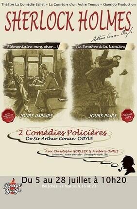 SHERLOCK HOLMES ELEMENTAIRE MON CHER ! - DE L'OMBRE A LA LUMIERE