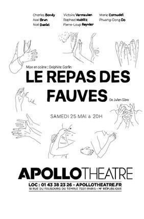 LE REPAS DE FAUVES A L'APOLLO THEATRE