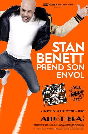 STAN BENETT PREND SON ENVOL